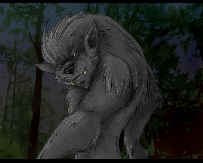 Nice werewolf - photo#12
