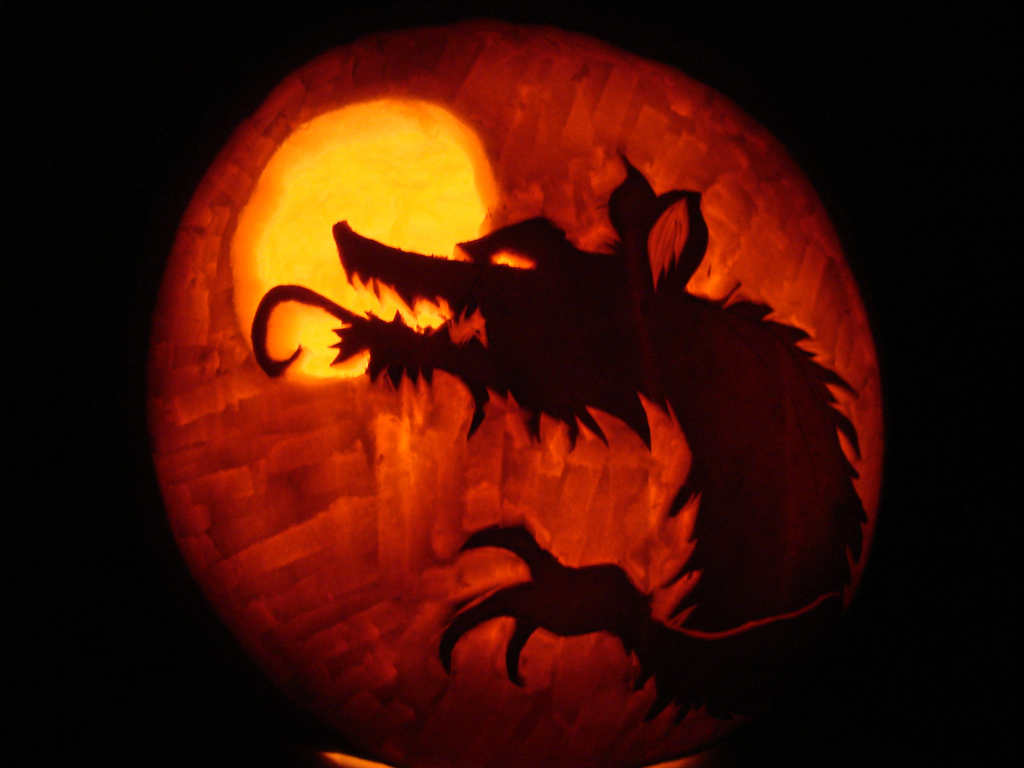 Werewolf pumpkin designs werewolf news Pumpkin carving designs photos