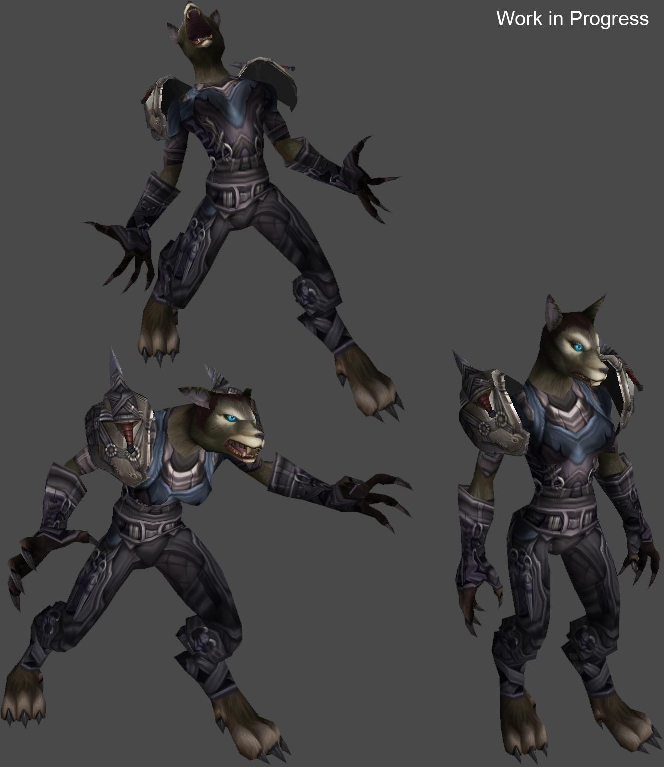 Blizzard Reveals WoW: Cataclysm's Female Worgen