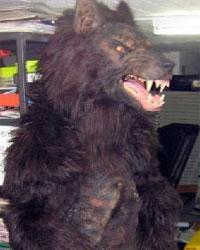 Realistic werewolf costume - photo#18