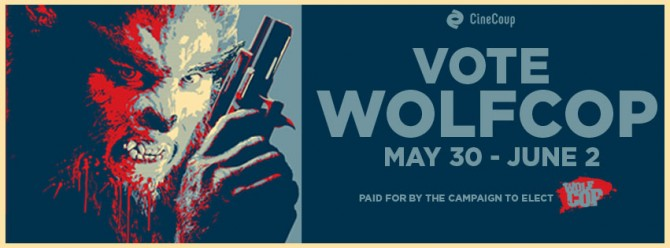 VOTE WOLFCOP Facebook Cover
