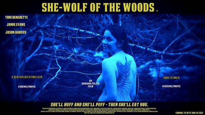 She-Wolf Of The Woods